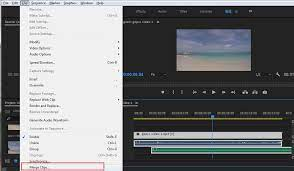 Синхронизация клипов и аудиодорожек в Adobe Premiere Pro