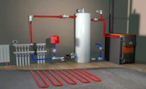В чем заключается установка системы отопления в частном доме
